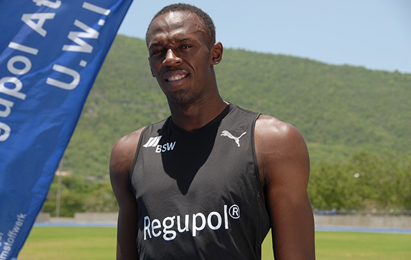 Usain Bolt Prefers to Run on Regupol Tracks