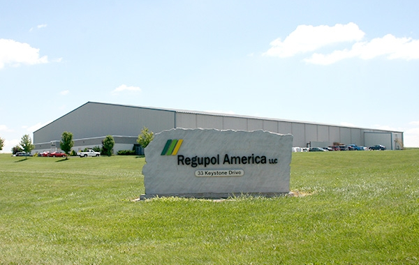 Regupol America Celebrates First Full Year of Manufacturing in the New Pennsylvania Facility