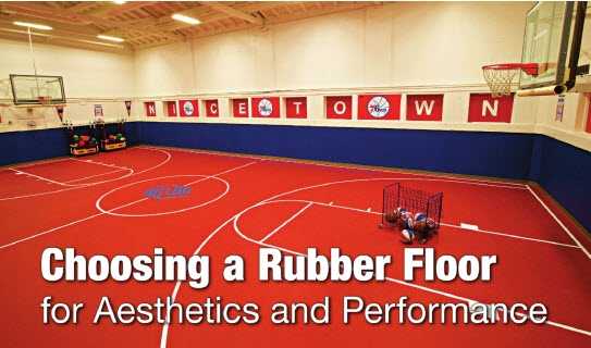 Regupol America Consulted on Rubber Floor Surfaces in Construction Specifier
