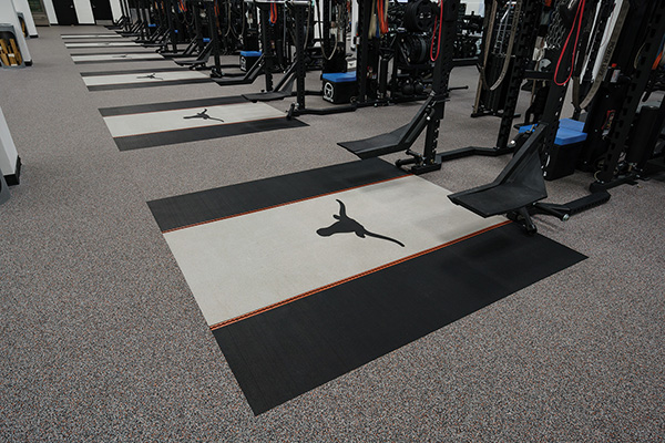 Recycled Rubber Sports & Fitness Athletic Flooring