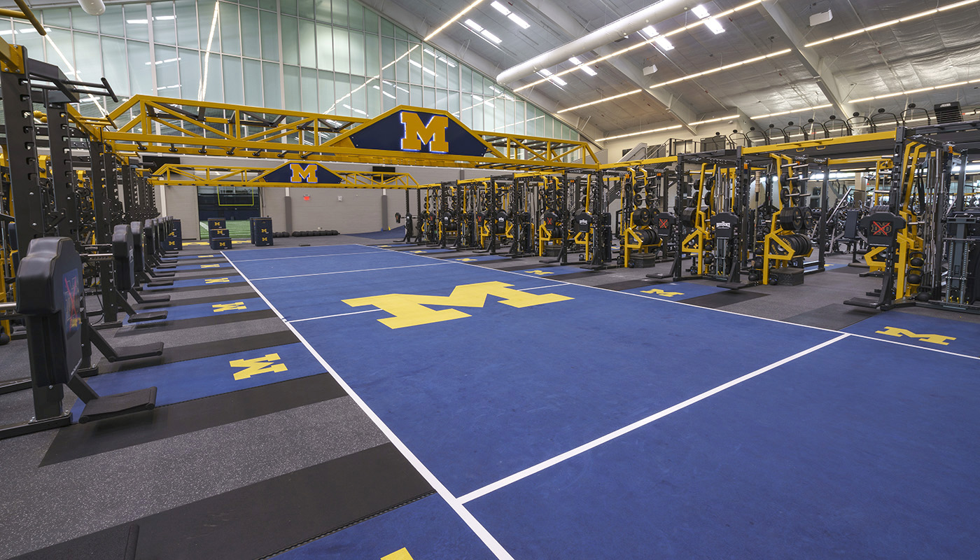 University of Michigan Football Facility