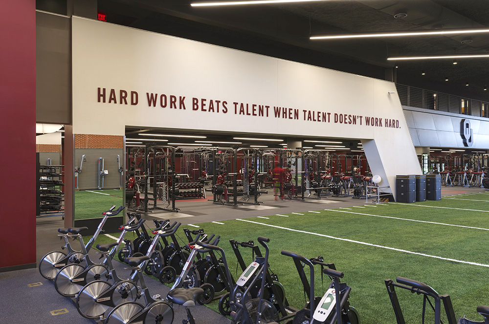 Barry Switzer Center – Oklahoma University