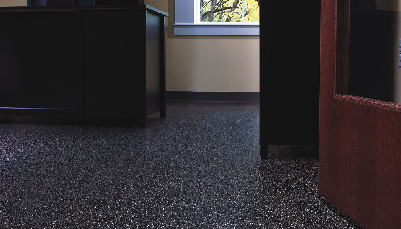 Regupol Revolution – Recycled Rubber Commercial Flooring