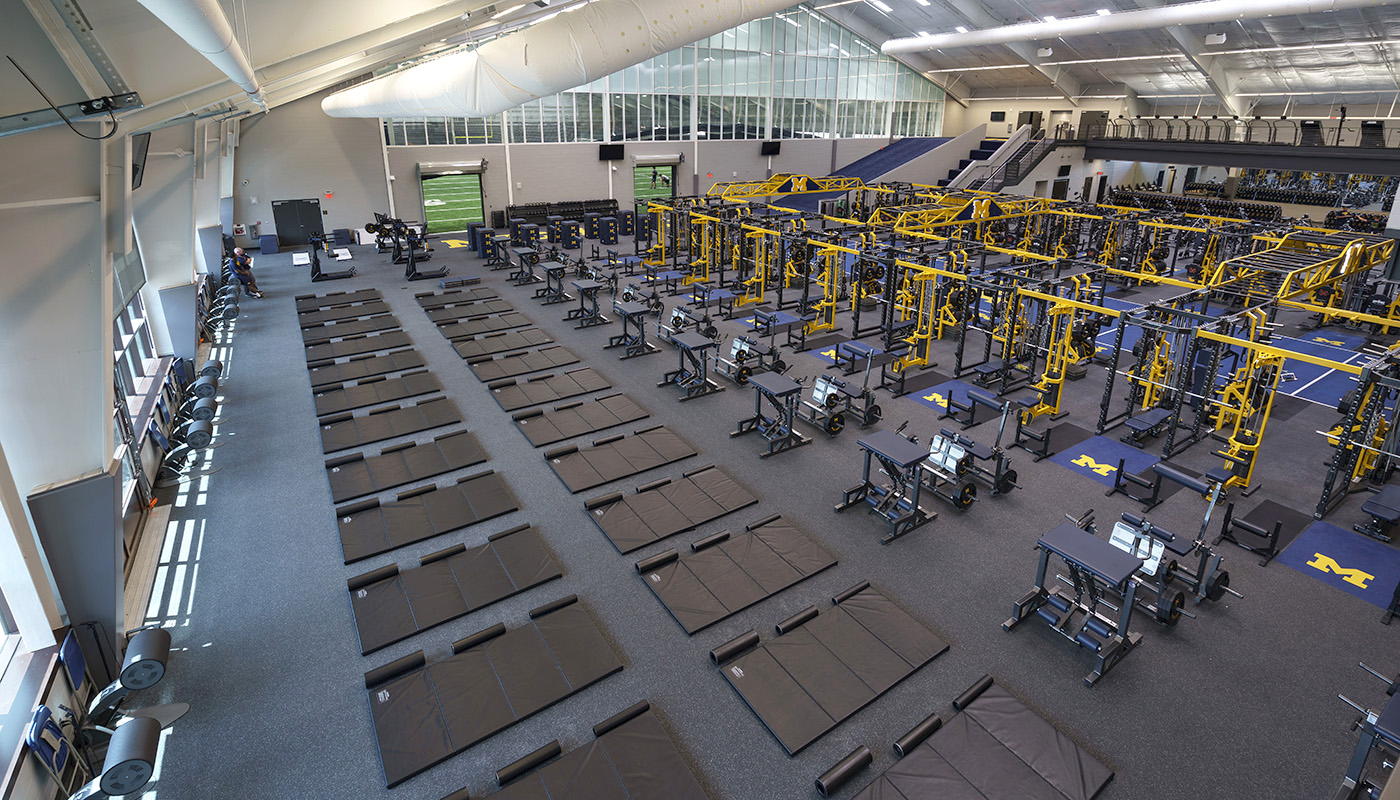 Oosterbaan Field House – University of Michigan