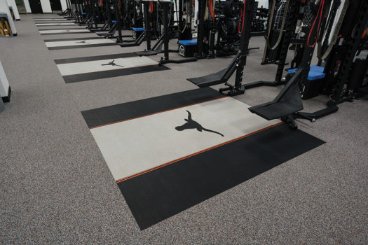 Performance Rubber Sports And Fitness Flooring Project